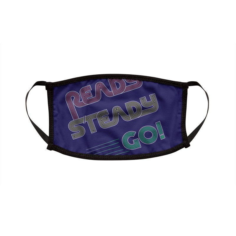 Ready Steady Go! Accessories Face Mask by 84collective