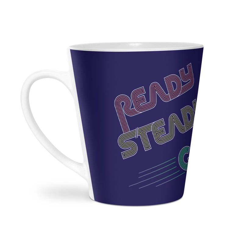Ready Steady Go! Accessories Latte Mug by 84collective