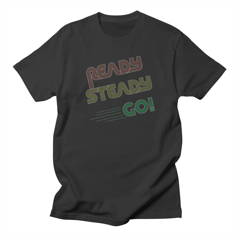 Ready Steady Go! Men's T-Shirt by 84collective