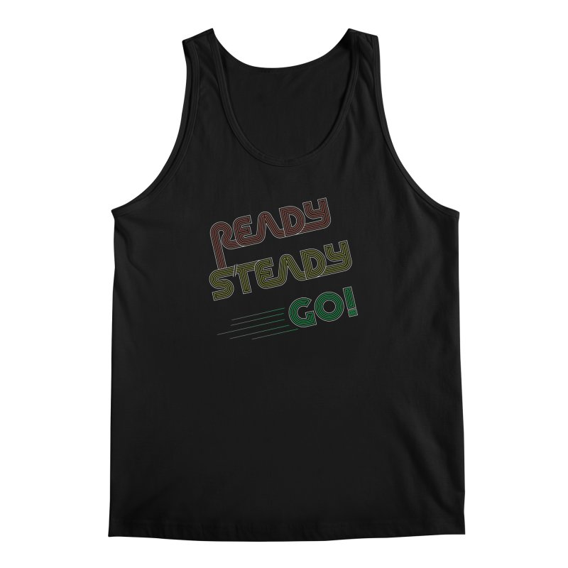 Ready Steady Go! Men's Regular Tank by 84collective