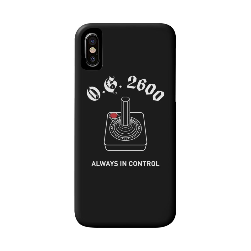 OG 2600 Always in Control (Joystick) Accessories Phone Case by 84collective