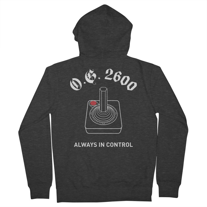 OG 2600 Always in Control (Joystick) Women's French Terry Zip-Up Hoody by 84collective