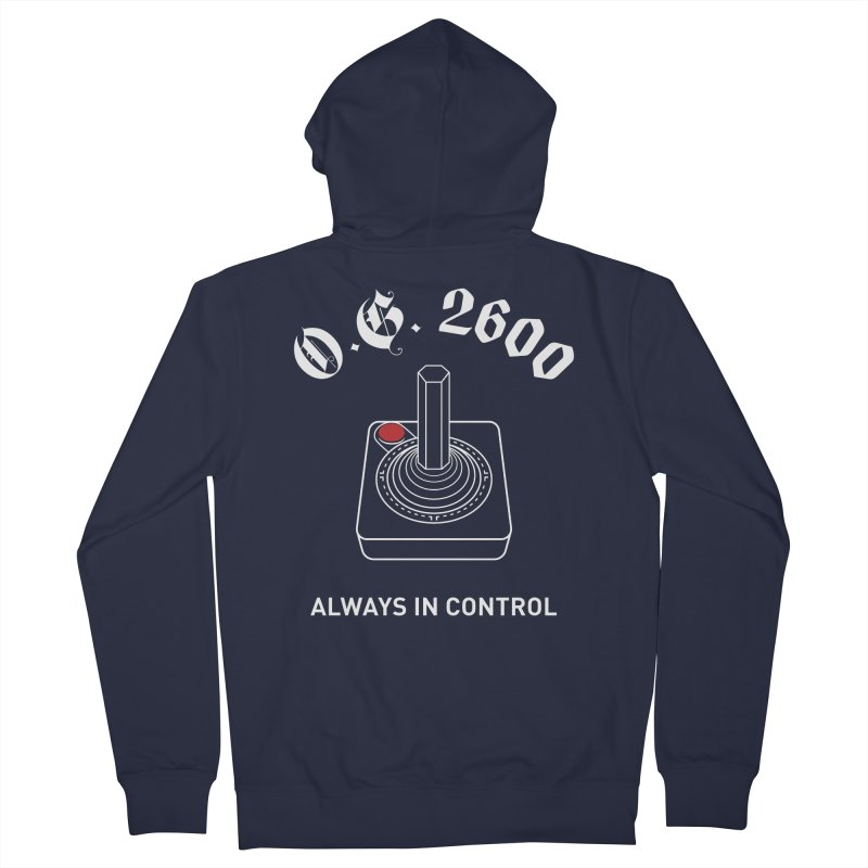OG 2600 Always in Control (Joystick) Men's French Terry Zip-Up Hoody by 84collective