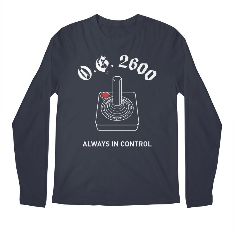 OG 2600 Always in Control (Joystick) Men's Regular Longsleeve T-Shirt by 84collective