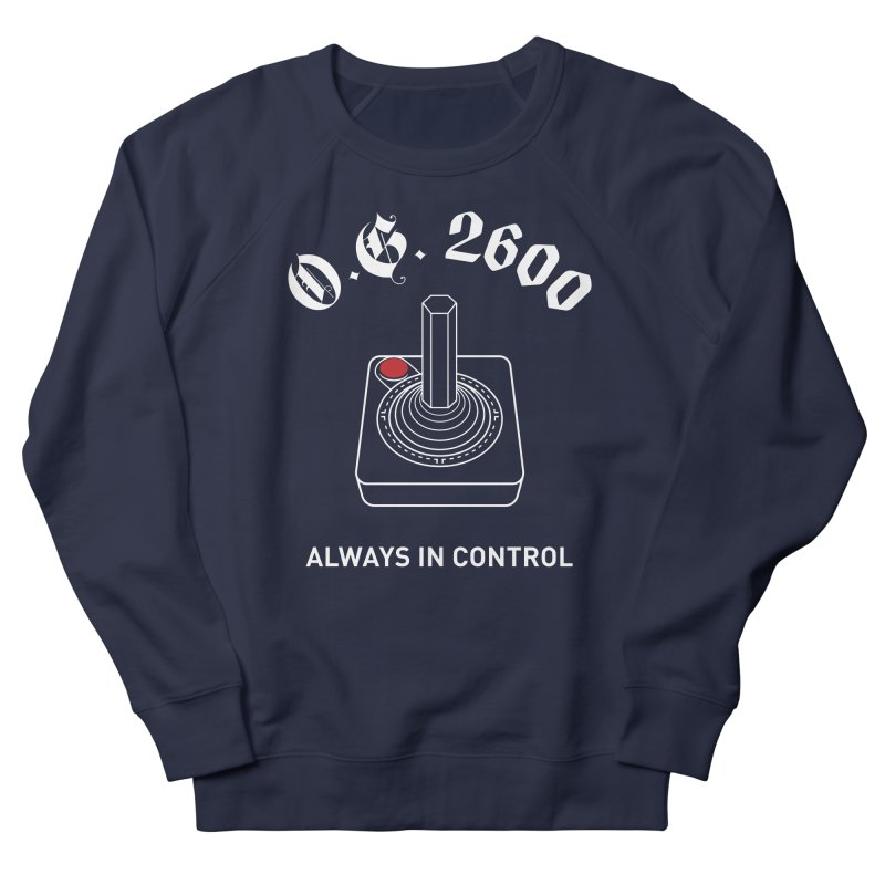 OG 2600 Always in Control (Joystick) Women's French Terry Sweatshirt by 84collective