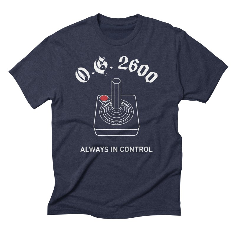 OG 2600 Always in Control (Joystick) Men's Triblend T-Shirt by 84collective