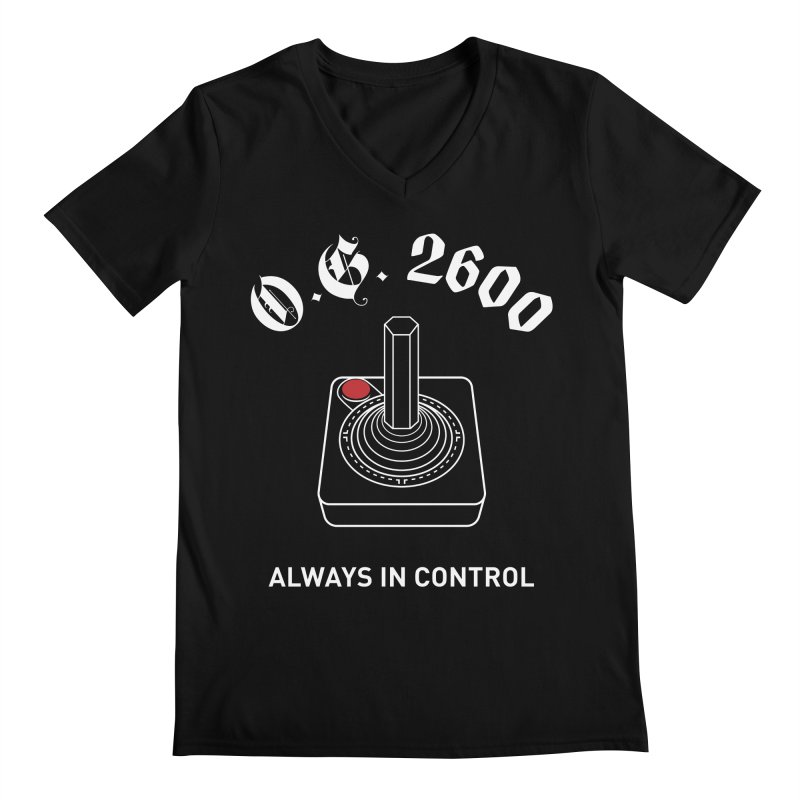 OG 2600 Always in Control (Joystick) Men's V-Neck by 84collective