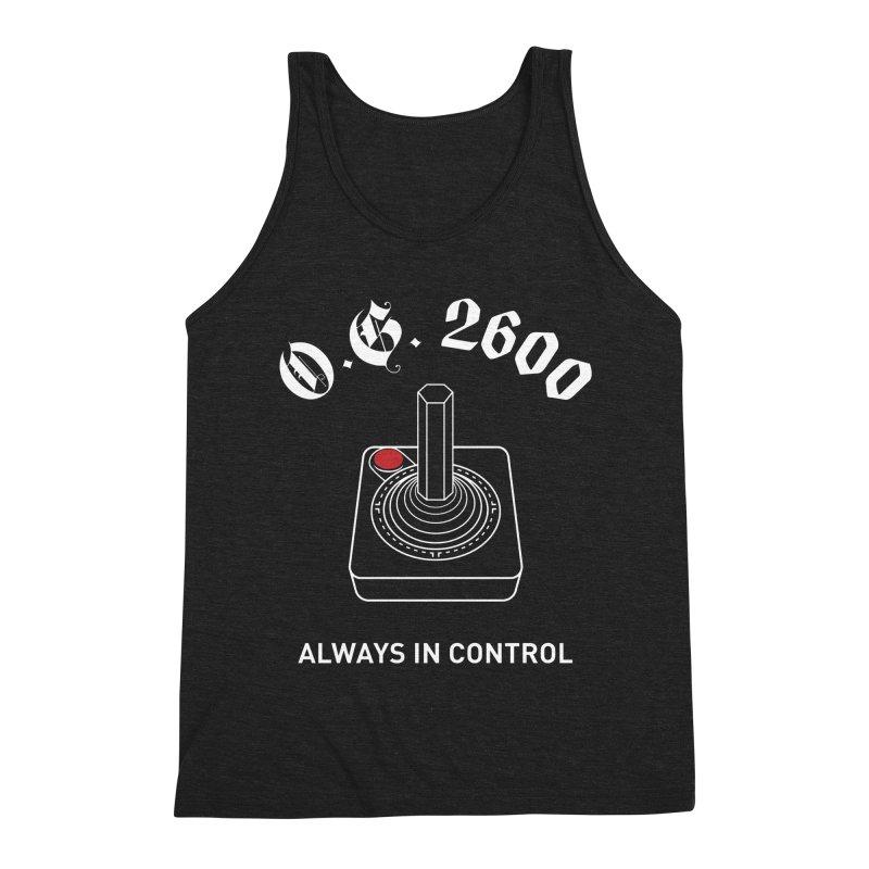 OG 2600 Always in Control (Joystick) Men's Triblend Tank by 84collective