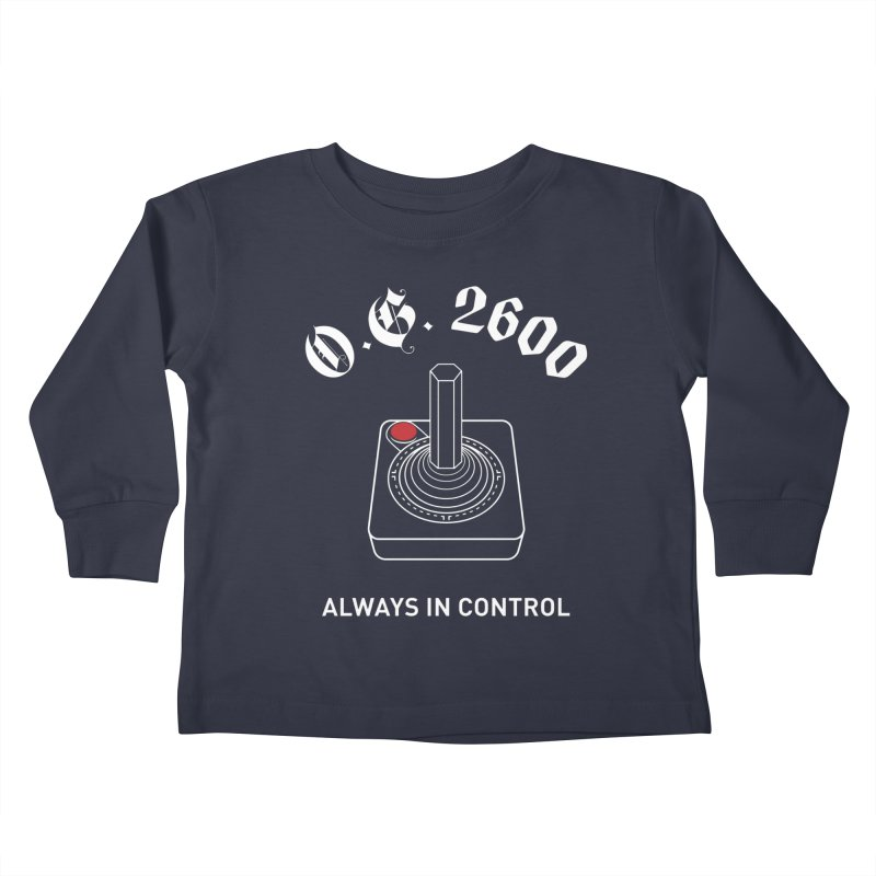 OG 2600 Always in Control (Joystick) Kids Toddler Longsleeve T-Shirt by 84collective