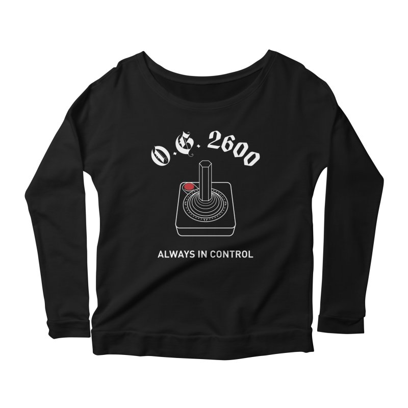 OG 2600 Always in Control (Joystick) Women's Scoop Neck Longsleeve T-Shirt by 84collective