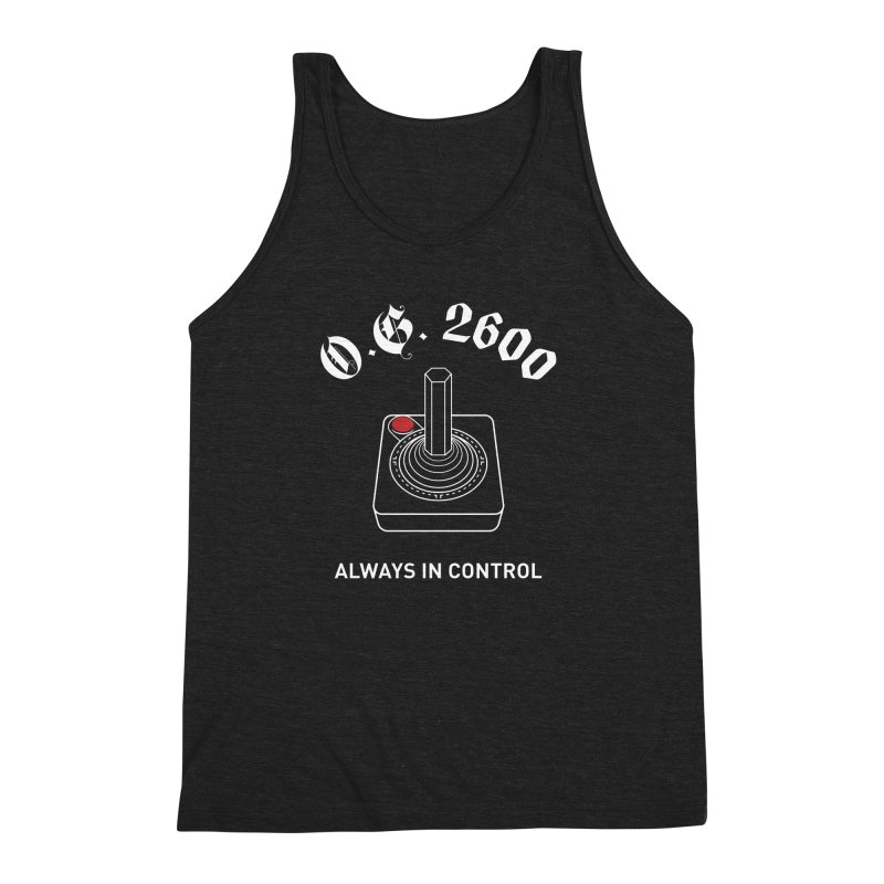 OG 2600 Always in Control (Joystick) Men's Triblend Tank by 84collective