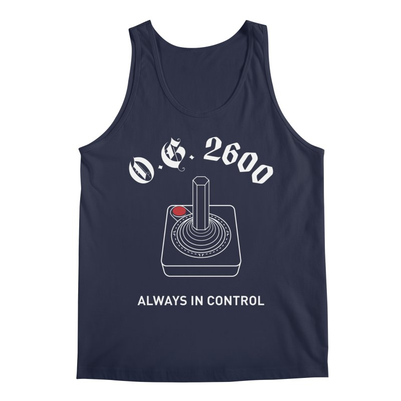 OG 2600 Always in Control (Joystick) Men's Tank by 84collective
