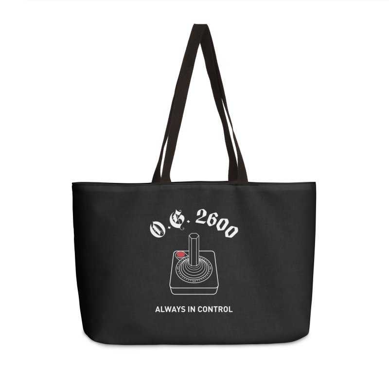 OG 2600 Always in Control (Joystick) Accessories Weekender Bag Bag by 84collective
