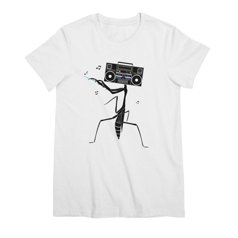 Praying Mantis Radio Women's T-Shirt by 84collective