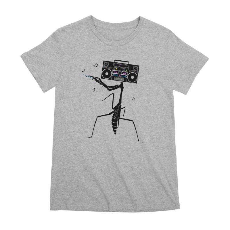 Praying Mantis Radio Women's Premium T-Shirt by 84collective
