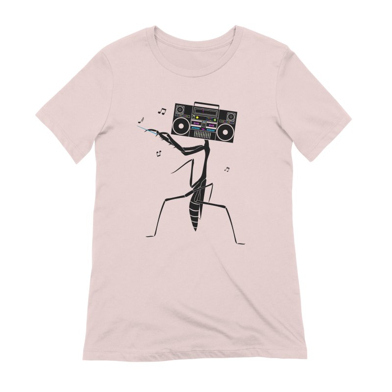 Praying Mantis Radio Women's Extra Soft T-Shirt by 84collective
