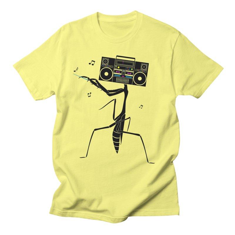 Praying Mantis Radio Men's T-Shirt by 84collective