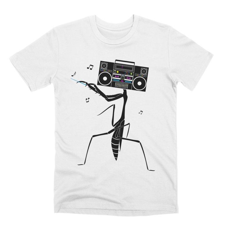 Praying Mantis Radio Men's Premium T-Shirt by 84collective