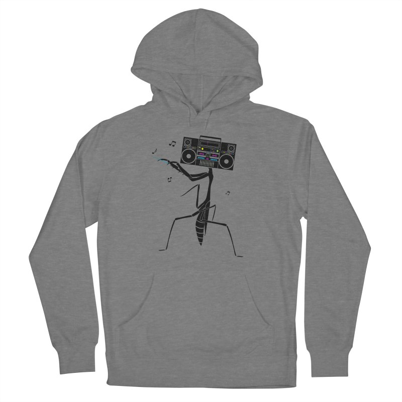 Praying Mantis Radio Men's French Terry Pullover Hoody by 84collective