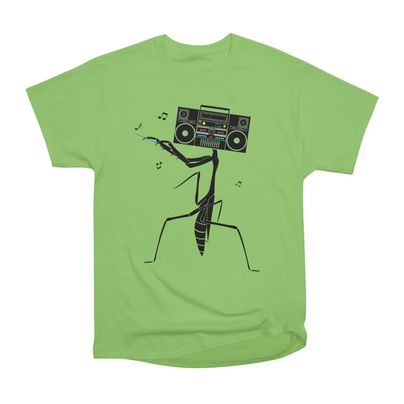 Praying Mantis Radio Women's Heavyweight Unisex T-Shirt by 84collective