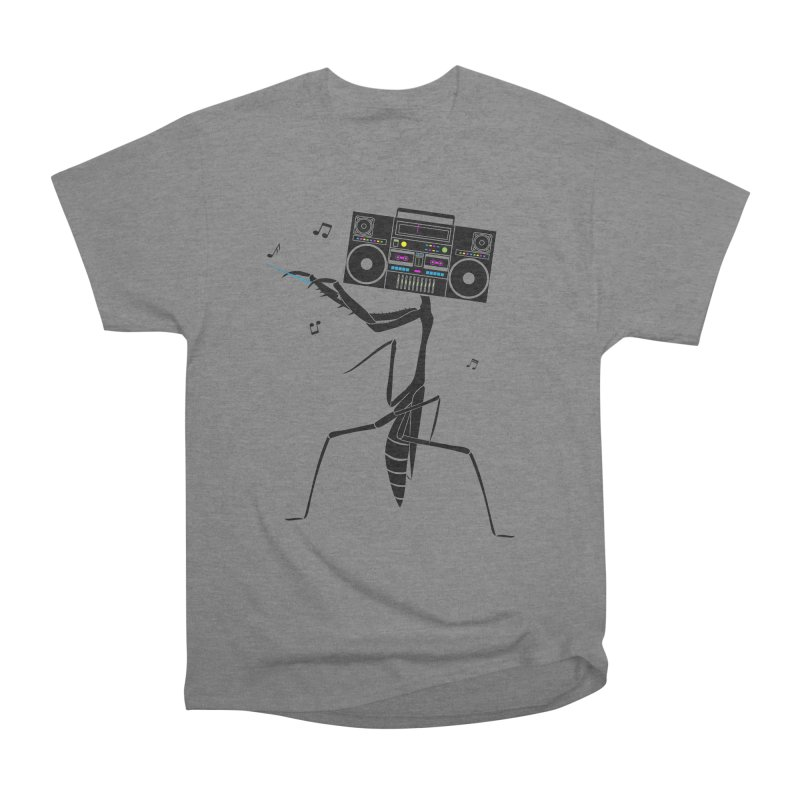 Praying Mantis Radio Men's Heavyweight T-Shirt by 84collective