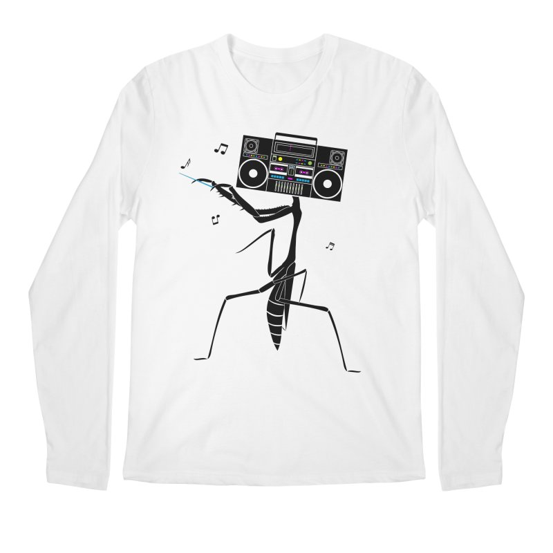 Praying Mantis Radio Men's Regular Longsleeve T-Shirt by 84collective