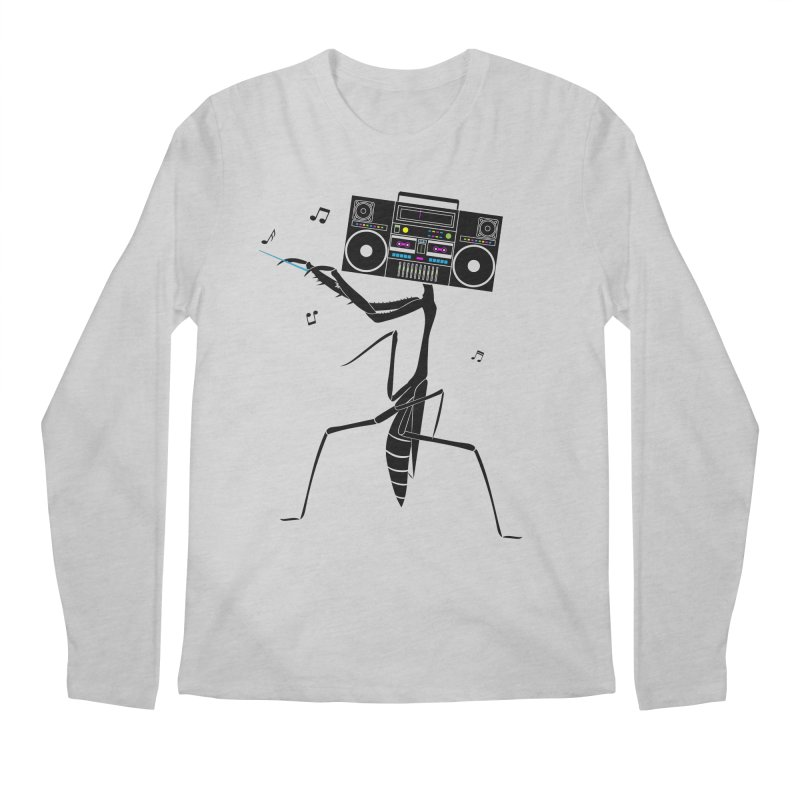 Praying Mantis Radio Men's Longsleeve T-Shirt by 84collective