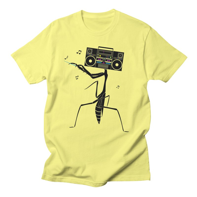 Praying Mantis Radio Men's T-Shirt by 84collective