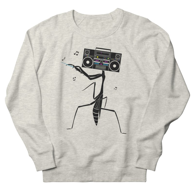 Praying Mantis Radio Men's French Terry Sweatshirt by 84collective