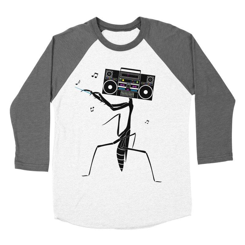 Praying Mantis Radio Men's Baseball Triblend Longsleeve T-Shirt by 84collective
