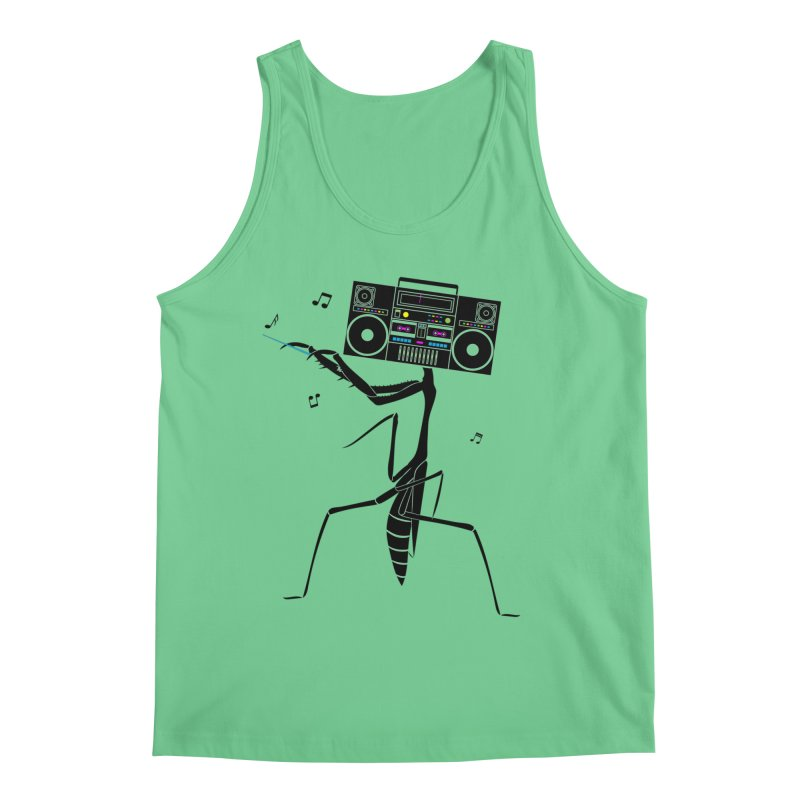 Praying Mantis Radio Men's Regular Tank by 84collective