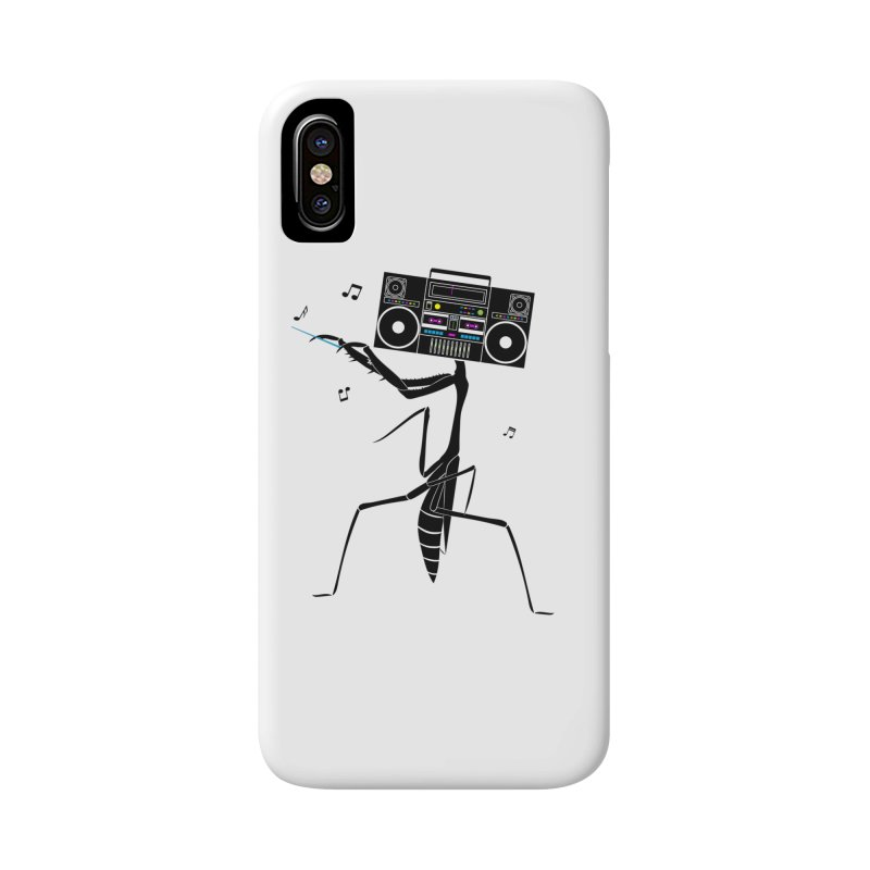 Praying Mantis Radio Accessories Phone Case by 84collective