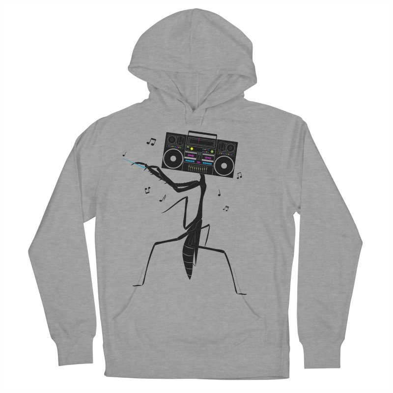 Praying Mantis Radio Women's French Terry Pullover Hoody by 84collective