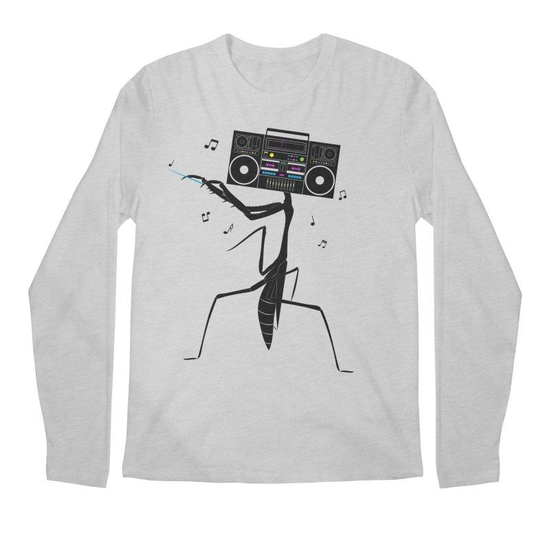 Praying Mantis Radio Men's Regular Longsleeve T-Shirt by 84collective