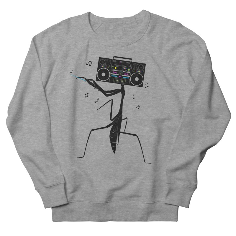 Praying Mantis Radio Women's French Terry Sweatshirt by 84collective