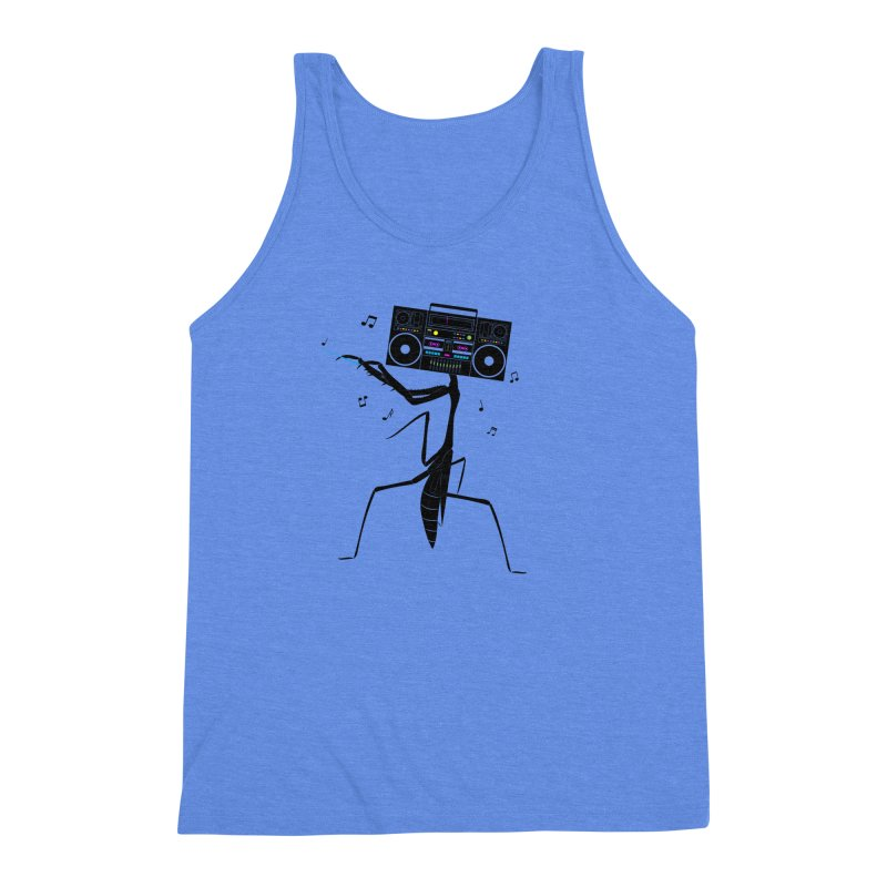 Praying Mantis Radio Men's Triblend Tank by 84collective