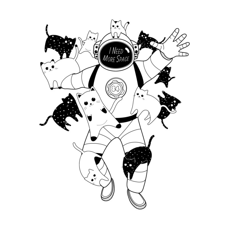 I Need More Space Cats by 84collective
