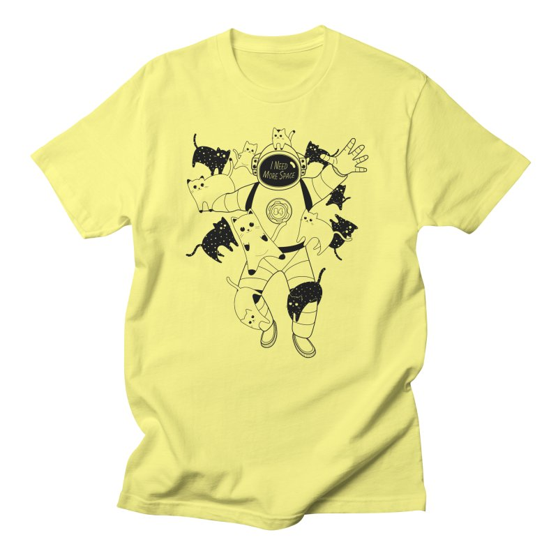 I Need More Space Cats Men's T-Shirt by 84collective