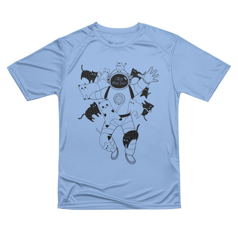 I Need More Space Cats Women's Performance Unisex T-Shirt by 84collective