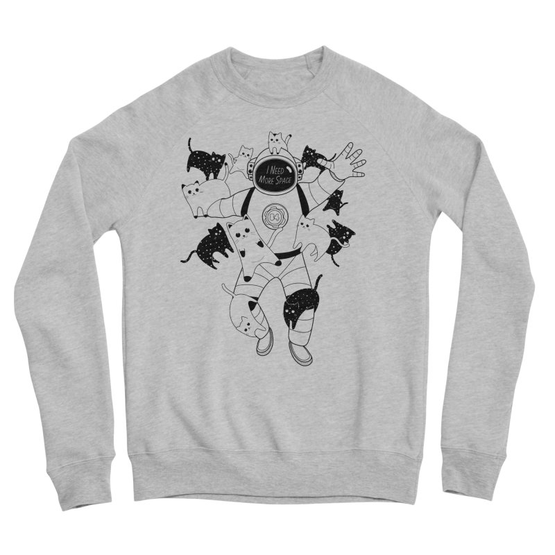 I Need More Space Cats Women's Sweatshirt by 84collective