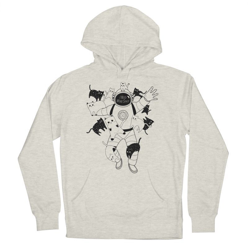 I Need More Space Cats Women's French Terry Pullover Hoody by 84collective