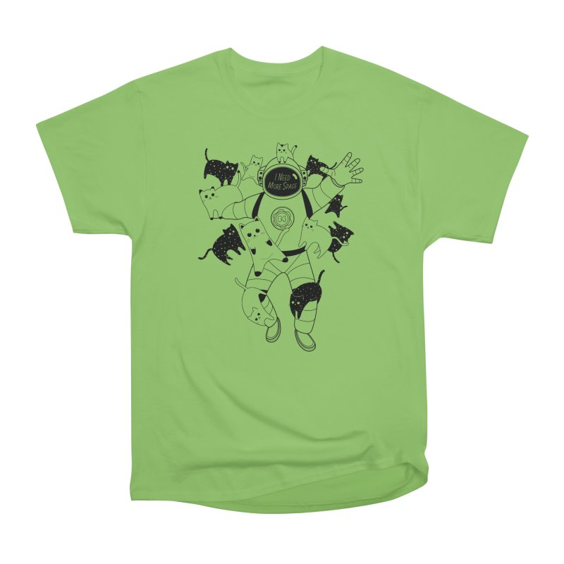 I Need More Space Cats Women's Heavyweight Unisex T-Shirt by 84collective
