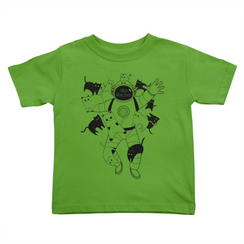 I Need More Space Cats Kids Toddler T-Shirt by 84collective