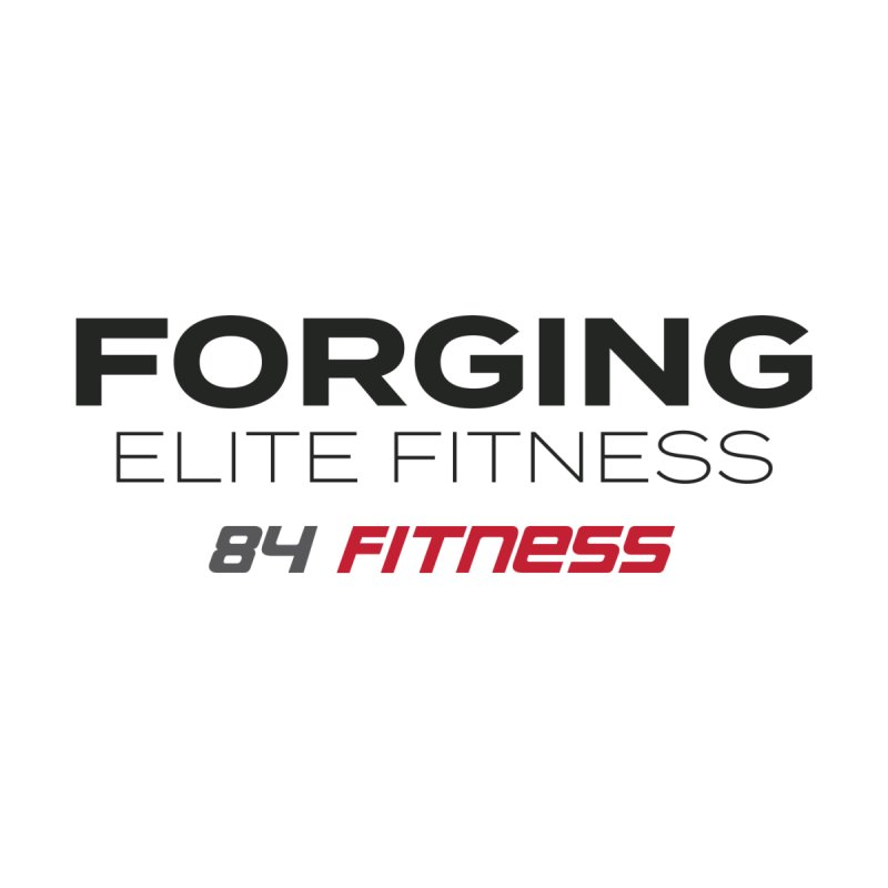 Forging Elite Fitness Men's Pullover Hoody by 84fitness's Artist Shop