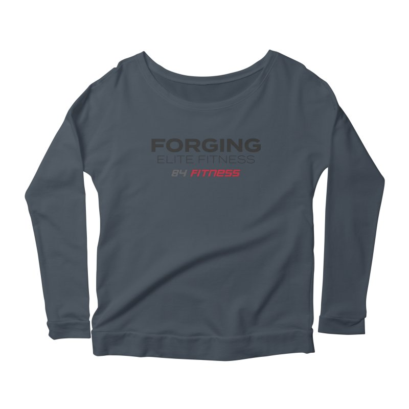 Forging Elite Fitness Women's Longsleeve T-Shirt by 84fitness's Artist Shop