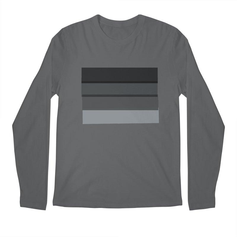 Noir Men's Longsleeve T-Shirt by 8 TV Artist Shop