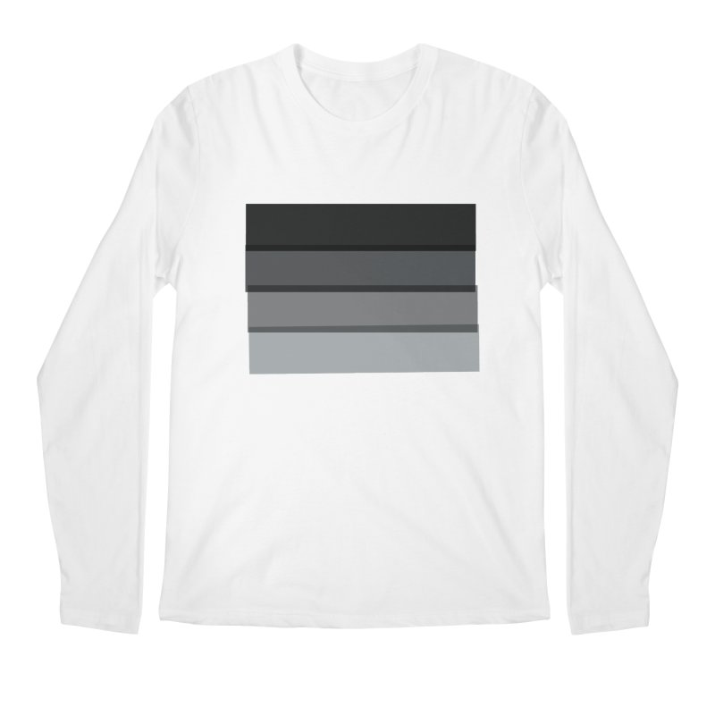 Noir Men's Longsleeve T-Shirt by 8 TV Artist Shop