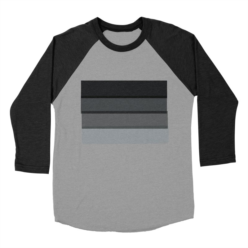 Noir Men's Baseball Triblend T-Shirt by 8 TV Artist Shop