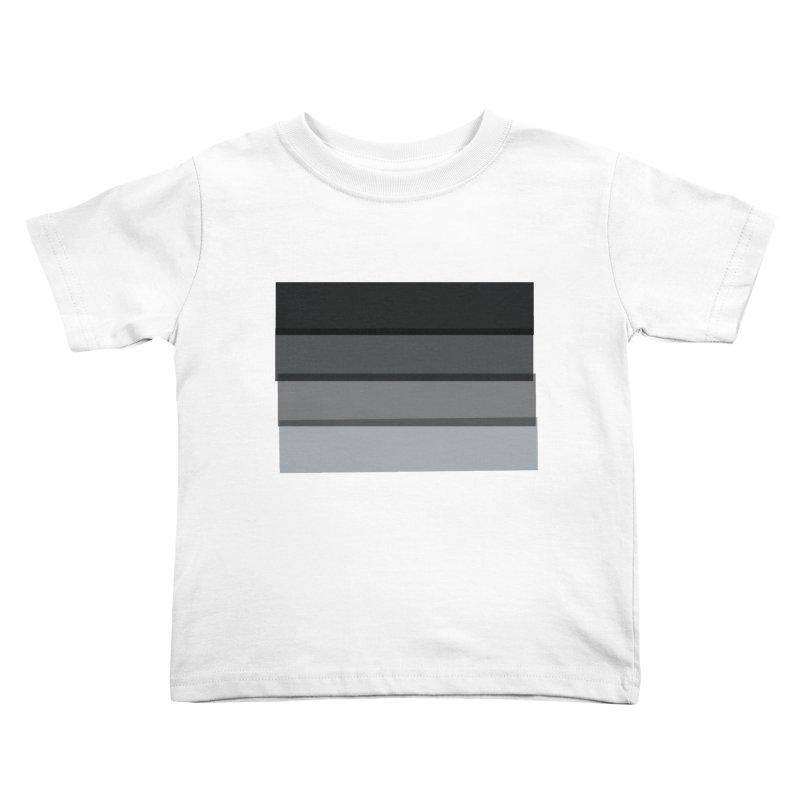 Noir Kids Toddler T-Shirt by 8 TV Artist Shop