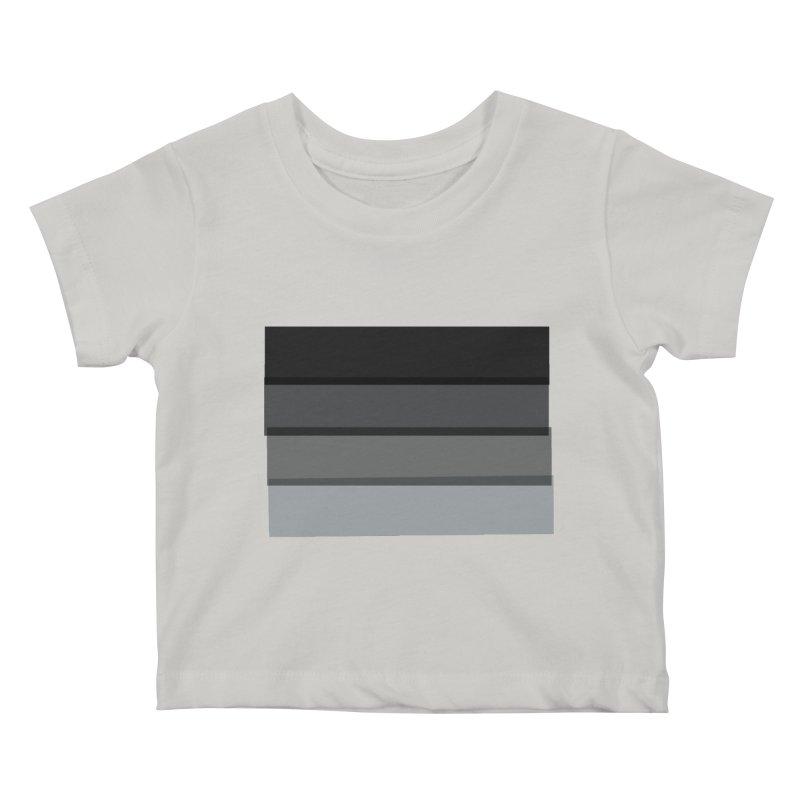 Noir Kids Baby T-Shirt by 8 TV Artist Shop